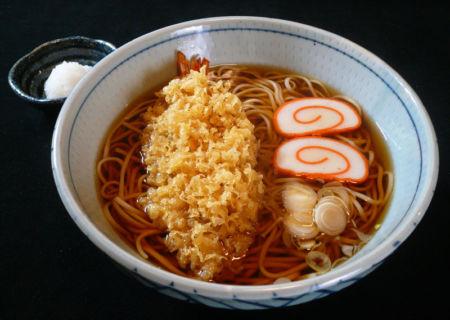 【人気4位】天ぷらそば・うどん・くすし